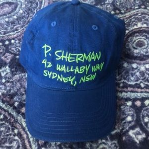 P. Sherman hat from finding Nemo